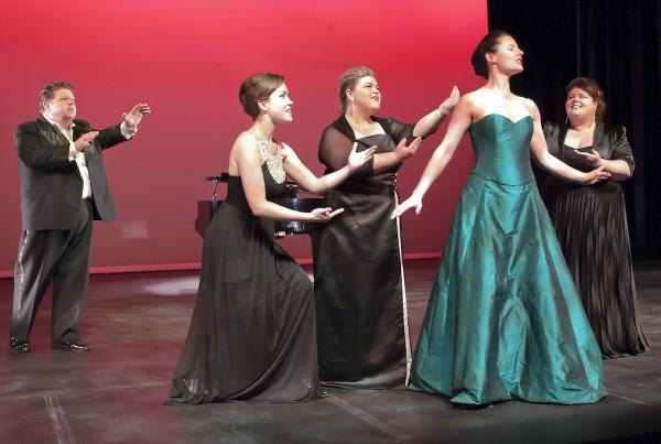 Flute, Glenn 3 Ladies, QofN